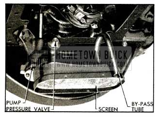 1953 Buick Oil Pump and Screen