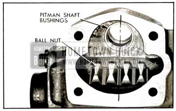 1953 Buick Position of Ball Nut for Installation of Pitman Shaft