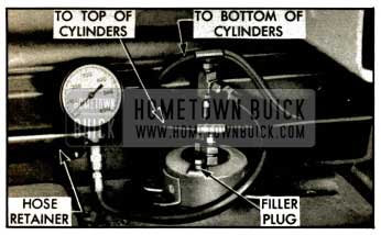 1953 Buick Pressure Gauge Installed at Pump