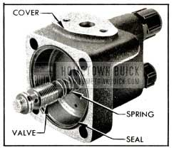 1953 Buick Pump Cover and Control Valve