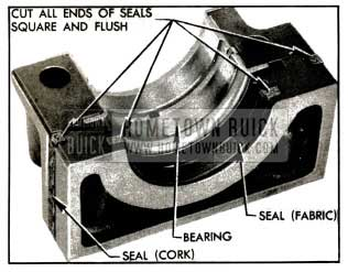 1953 Buick Rear Bearing Oil Seals