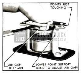 1953 Buick Relay Air Gap Adjustment