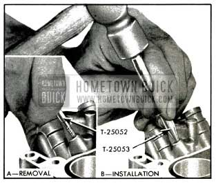 1953 Buick Removal and Installation of Ball Plugs