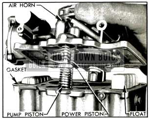 1953 Buick Removing Air Horn and Attached Parts
