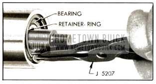 1953 Buick Removing Bearing Retaining Ring