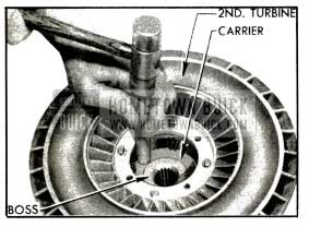 1953 Buick Removing Carrier from Turbine