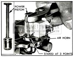 1953 Buick Removing Vacuum Power Piston