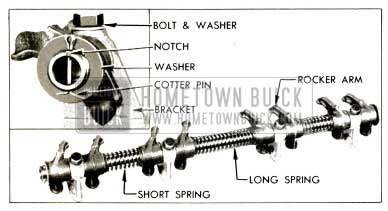 1953 Buick Rocker Arm and Shaft Assembly