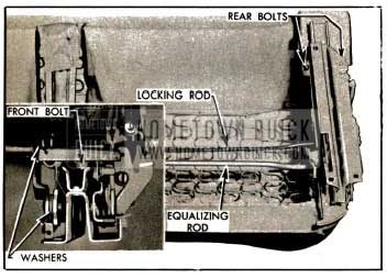 1953 Buick Seat Adjuster Attaching Parts