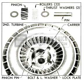 1953 Buick Second Turbine Parts