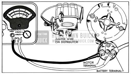 1953 Buick Solenoid Switch Contact Test Connections
