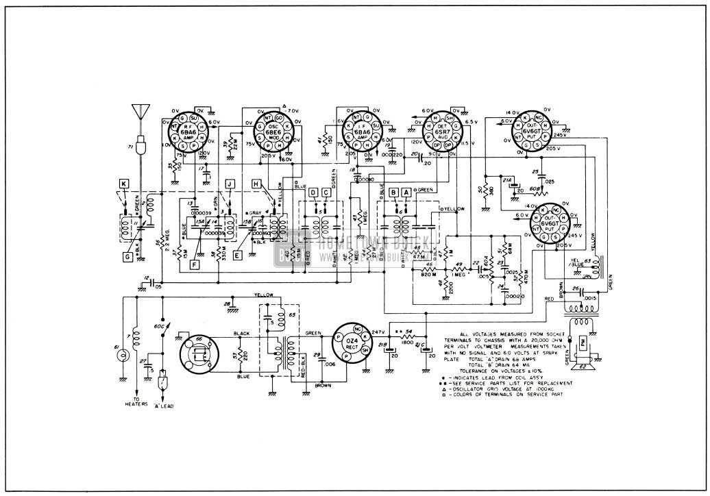 1953 buick grill bar wiring diagrams