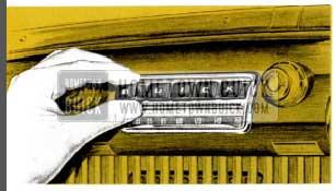 1953 Buick Sonomatic Radio