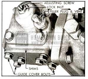 1953 Buick Steering Gear Adjustments