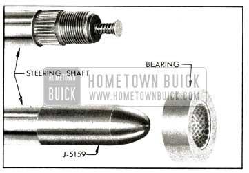 1953 Buick Steering Shaft, Bearing, and Bearing Protector