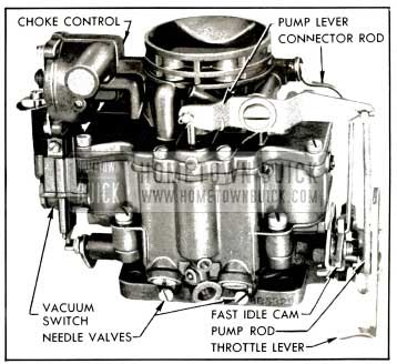 1953 Buick Stromberg AAVB Carburetor Assembly
