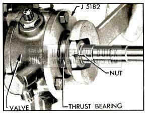 1953 Buick Tightening Worm Bearing Nut