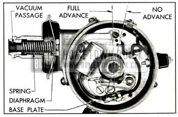 1953 Buick Vacuum Advance Mechanism
