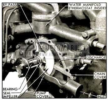1953 Buick Water Pump Installation