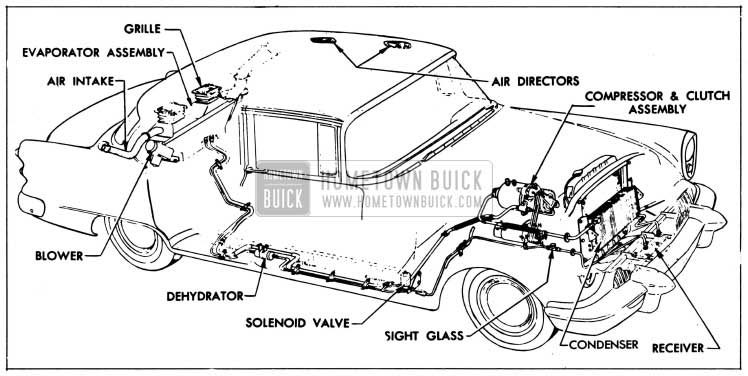 1954 buick heater  u0026 air conditioner