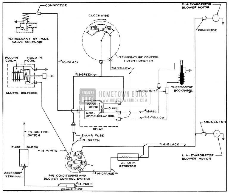 1954 Buick Air Conditioner Wiring Circuit Diagram Diagram1954 Diagrams Hometown Lincoln: 72 Buick Wiring Diagrams Online At Hrqsolutions.co