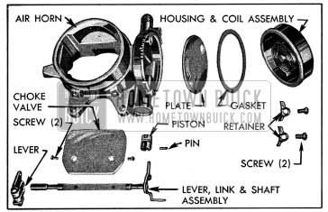 1954 Buick Air Horn and Climatic Control-Disassembled
