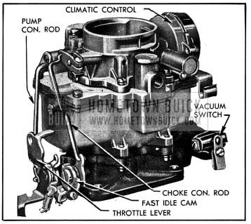 1954 Buick Carter WCD Carburetor Assembly