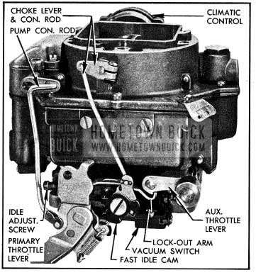 1954 Buick Carter WCFB Carburetor Assembly