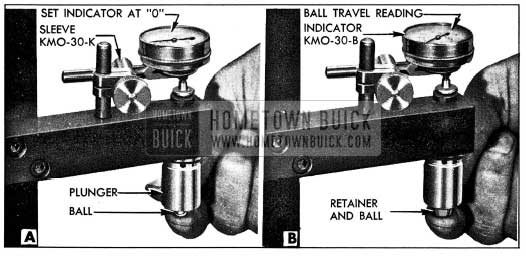 1954 Buick Checking Ball Travel