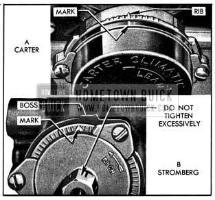 1954 Buick Choke Thermostat Settings