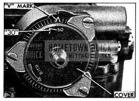1954 Buick Choke Thermostat Standard Setting
