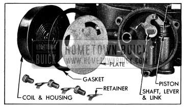 1954 Buick Climatic Control Parts