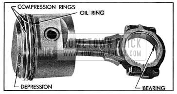 1954 Buick Connecting Rod and Piston Assembly