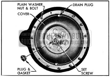1954 Buick Converter Pump Cover