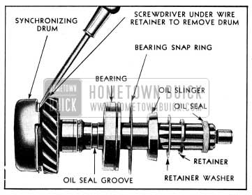 1954 Buick Disassembly of Main Drive Gear