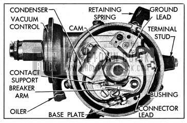 1954 Buick Distributor Parts