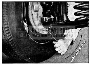 1954 Buick Expanding Brake Shoes