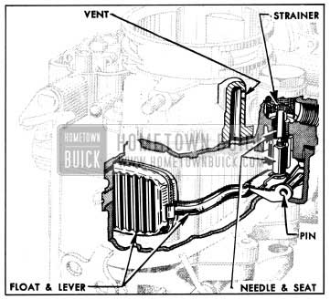 1954 Buick Float System-Carter WCD Carburetor