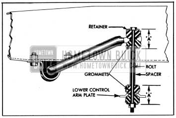 1954 Buick Front Stabilizer Link-Sectional View