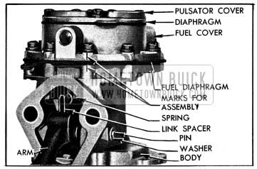 1954 Buick Fuel Section of Pump
