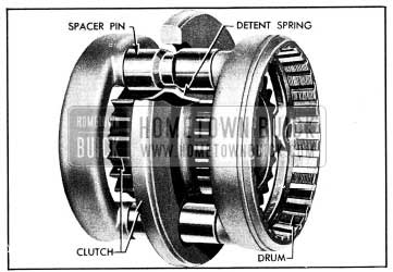 1954 Buick Gear Synchronizing Clutch-Series 50-60