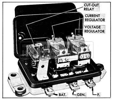 1954 Buick Generator Regulator