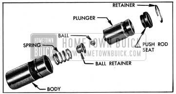 1954 Buick Hydraulic Valve Lifter Parts