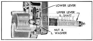1954 Buick Installation of Valve Operating Levers