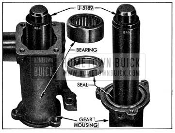 1954 Buick Installing Bearing and Seal in Gear Housing