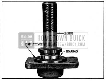 1954 Buick Installing Bearing in End Cover