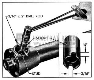 1954 Buick Installing Control Lever Stud