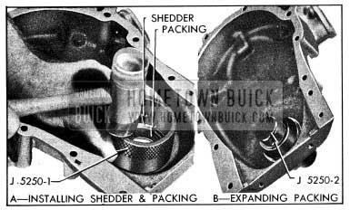 1954 Buick Installing Crankshaft Oil Seal