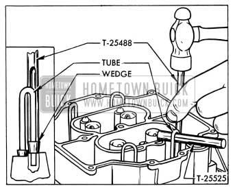 1954 Buick Installing Idle Tube