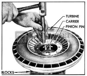 1954 Buick Installing Turbine on Carrier